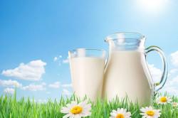 Теплое молоко для приготовления маски