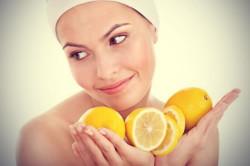 Лимонная маска для упругости лица