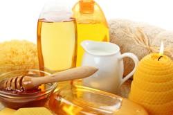 Польза меда при лечении угрей