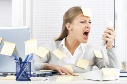 Стресс - причина угрей на лице