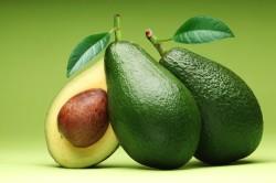 Авокадо - компонент очищающей маски