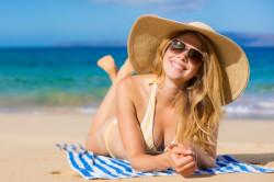Воздействие ультрафиолетовых лучей на кожу