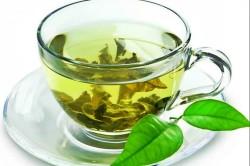 Зеленый чай в маске для лица