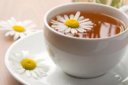 Чай из ромашки для жирной кожи