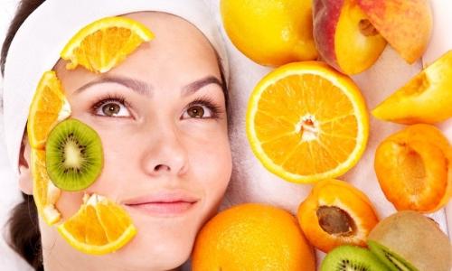 Фруктовые маски для лица с витамином С