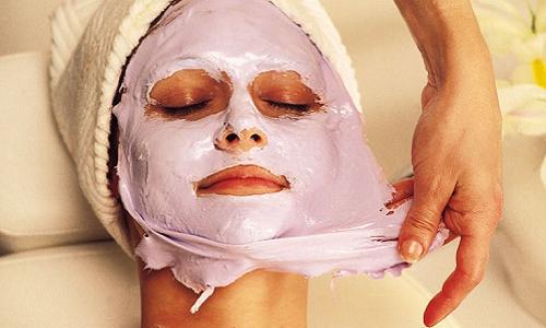 Антивозрастная коллагеновая маска для лица