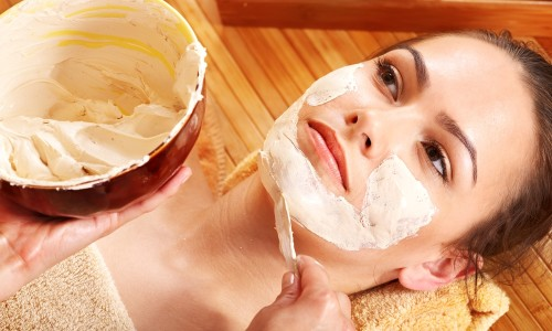 Полезная маска из соли для лица