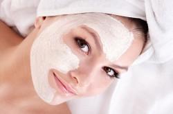 Сметанная маска для лица